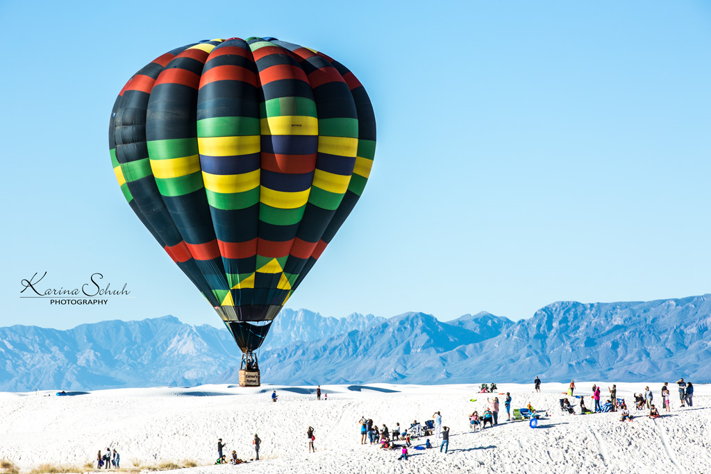White Sands Balloon Fiesta 2015