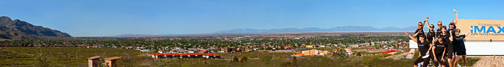 Panorama von Alamogordo