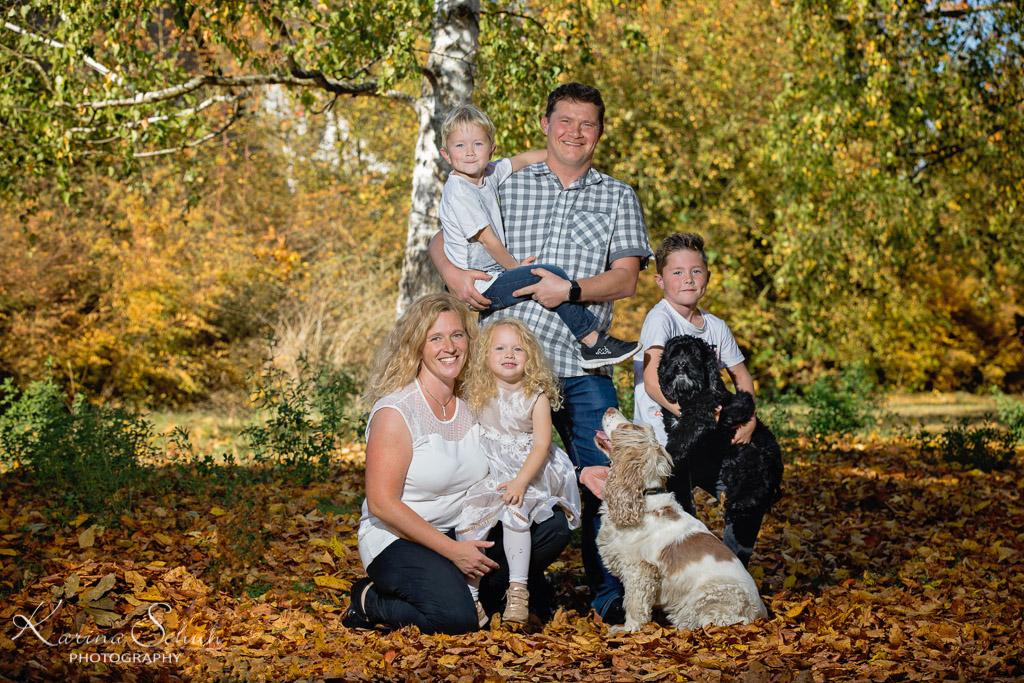 Familienfotos in der Natur, Koblenz