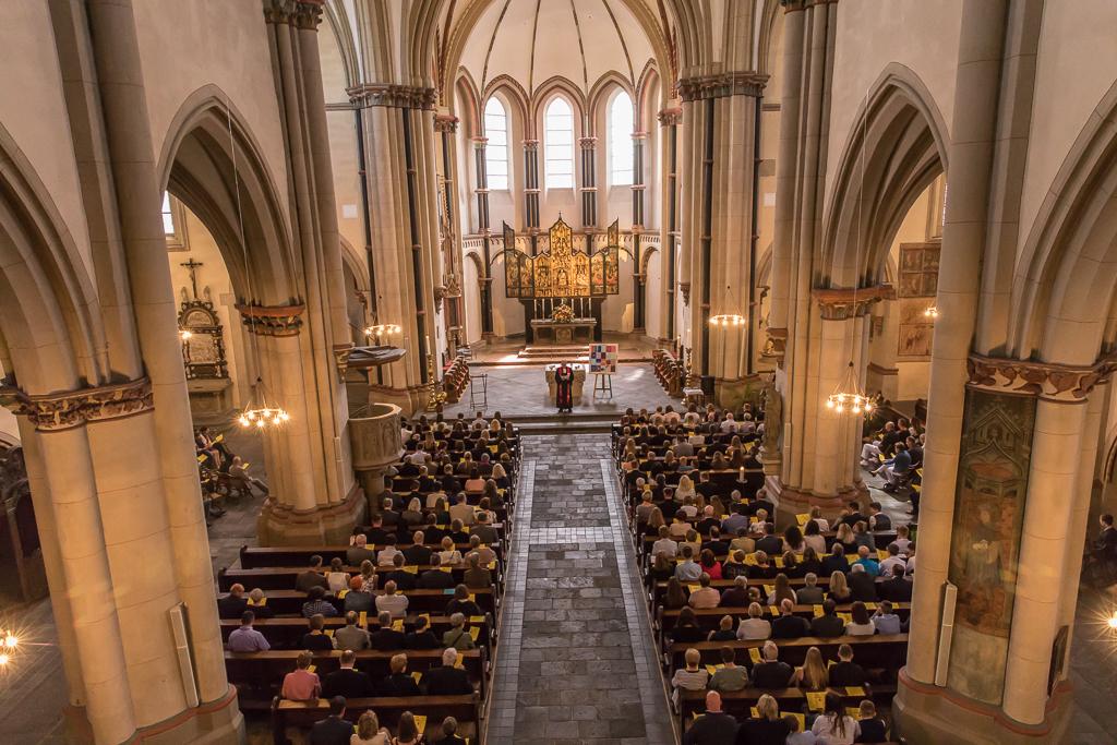 Gottesdienst zur Konfirmation - Foto Dokumentation