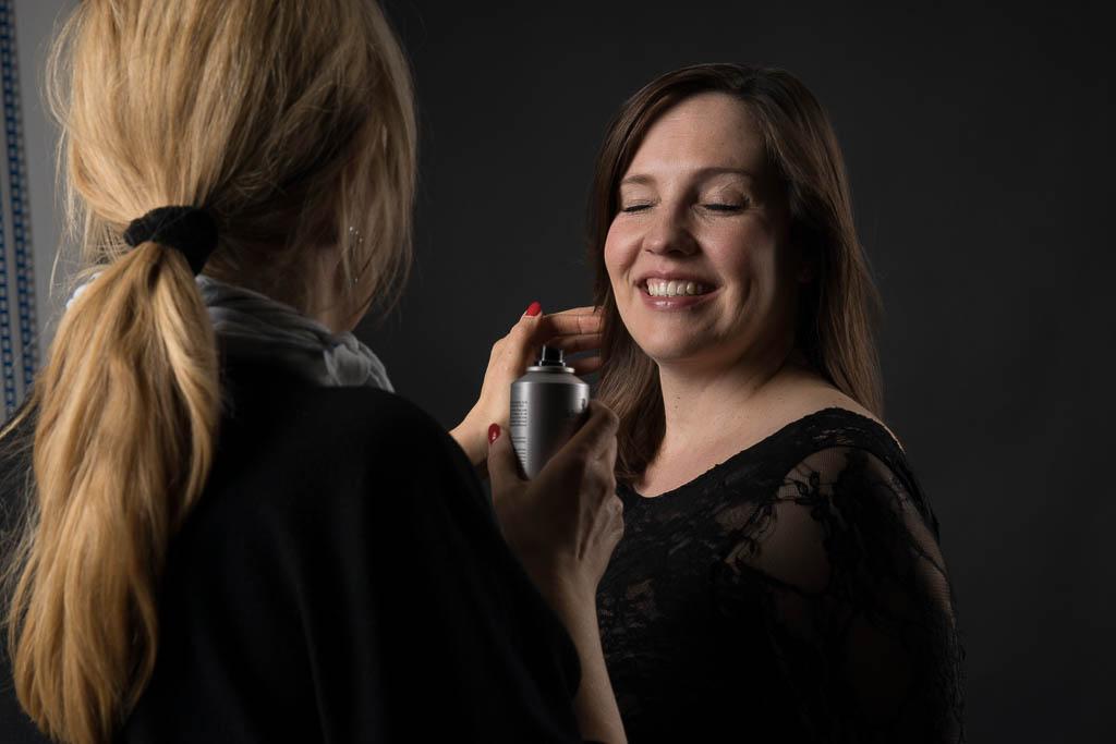 Haare und Make-up für Boudoir in Koblenz
