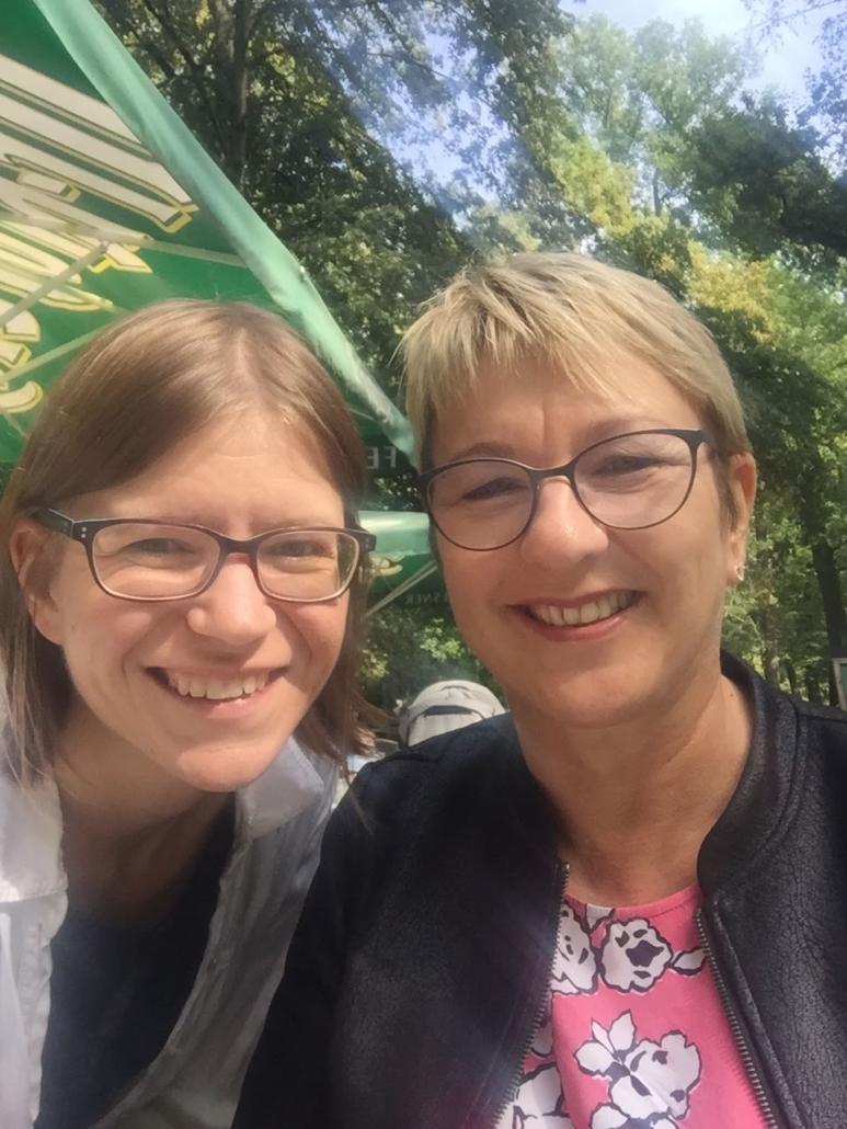 Treffen mit Susanne Höhne - Galeristin in Leipzig