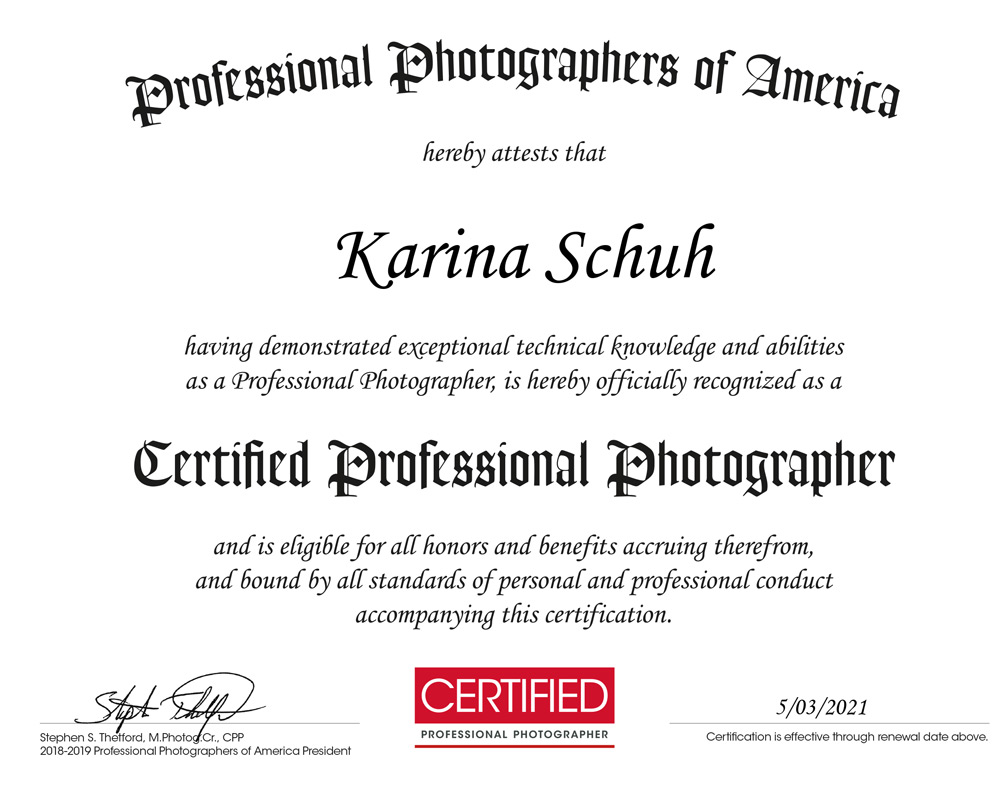 CPP - Professional Photographers of America