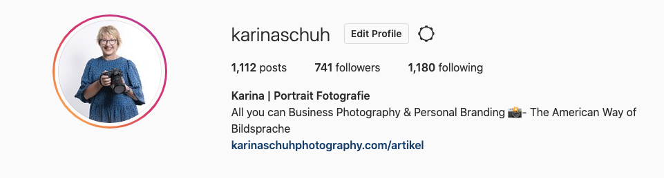 Instagram Follower Karina Schuh