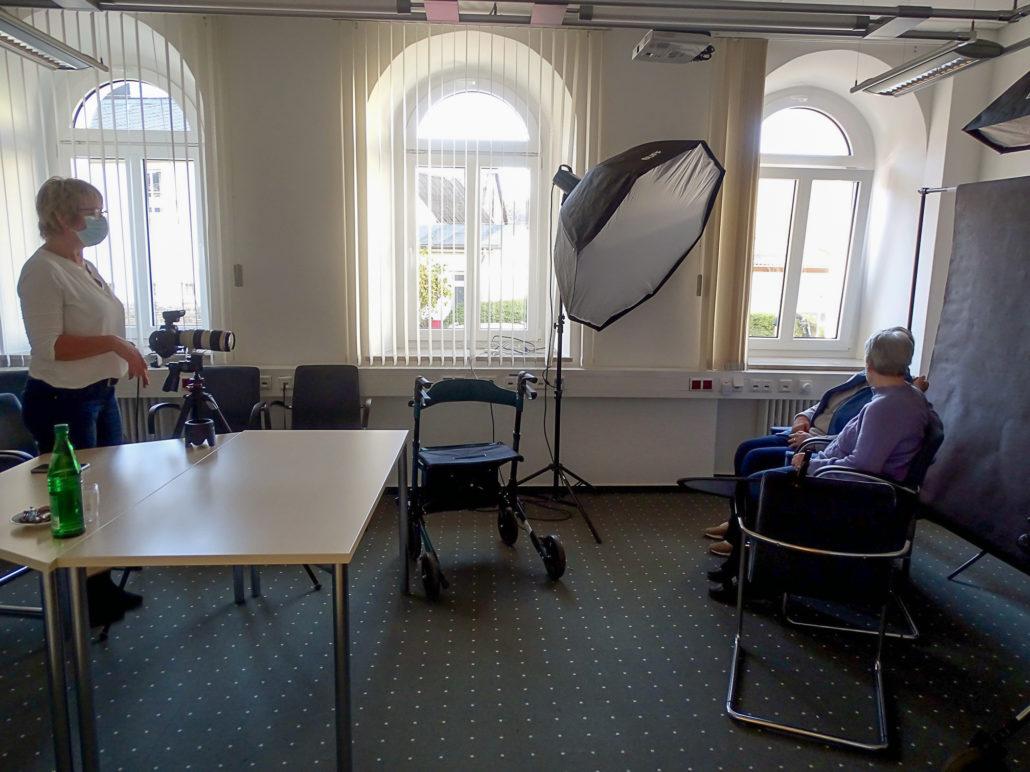 Ein Fotoprojekt zu Weihnachten 2020 im Seniorenheim in Münstermaifeld - Barmherzige Brüder Saffig