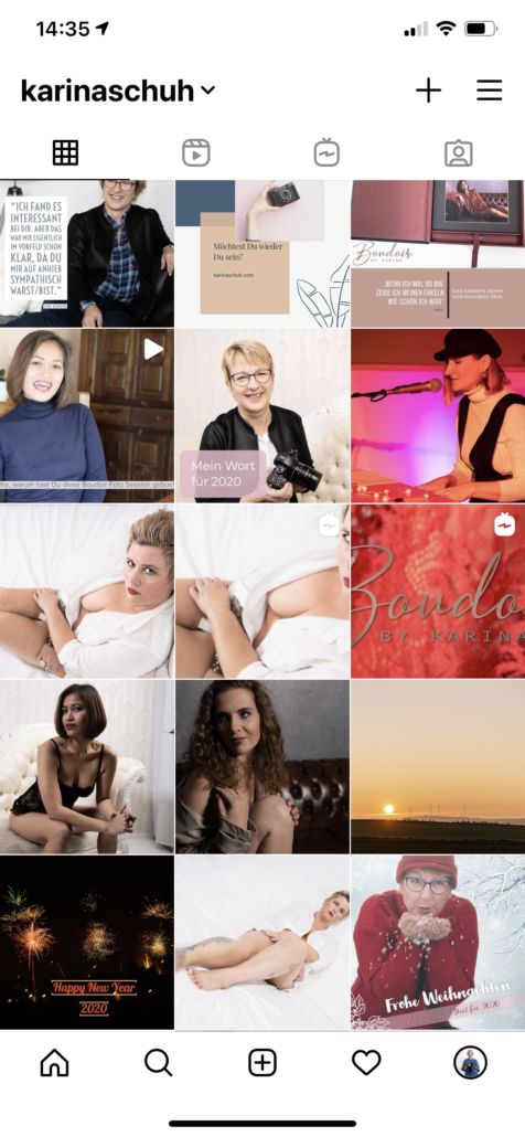 Instagram Grid 01.01.2020