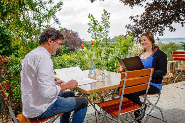 Hotel Landhaus vor Burg Eltz - Personal Branding Fotos in Wierschem