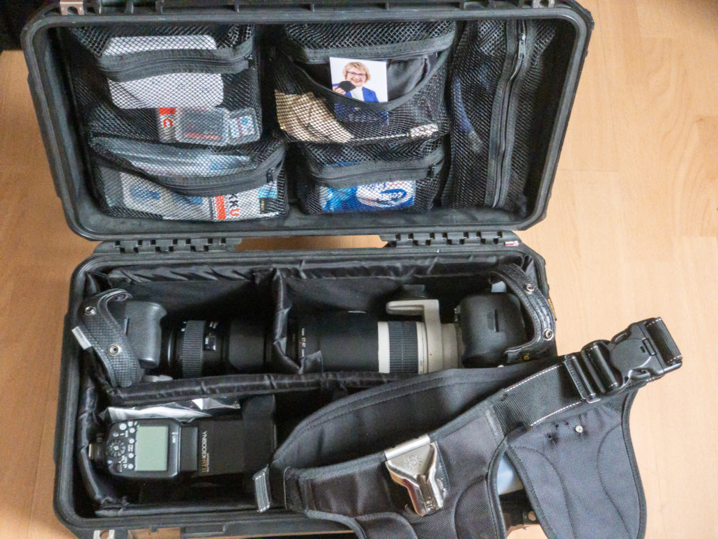 Was ist in meiner Kameratasche, wenn ich Personal Branding Fotografie mache?