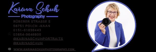 Email-Unterschrift Karina Schuh Photography
